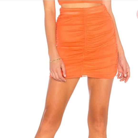 NBD Dresses & Skirts - Sydel Mini Skirt Poppy Orange